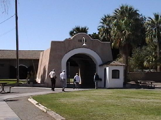 Yuma, AZ: The old front gate to the prison