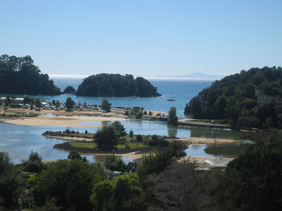 Kaiteriteri, New Zealand: view from room
