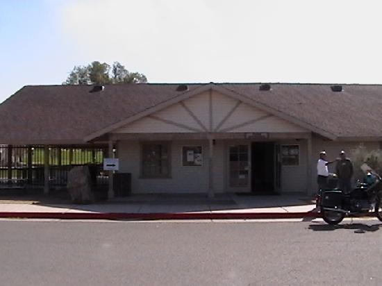 Yuma Quartermaster Depot State Historic Park: Park entrance