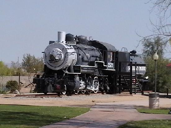 Colorado River State Historic Park: See old historic trains