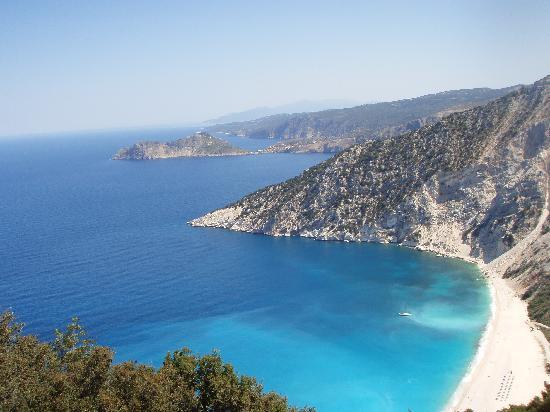 Παραλία Μύρτος: myrtos