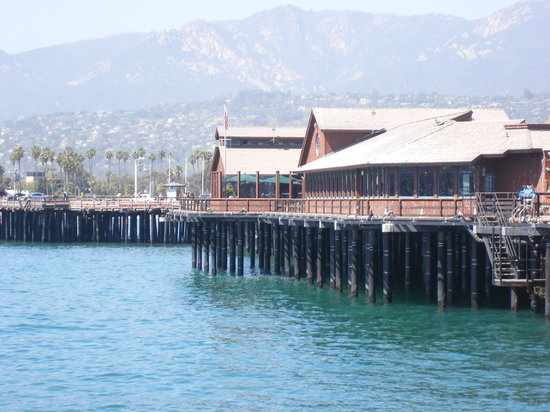 Santa Barbara, Californien: The pier