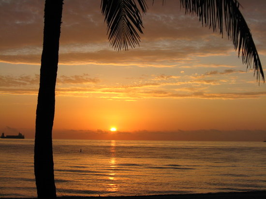 Форт-Лодердейл, Флорида: Sunrise on Ft. Lauderdale Beach - Feb 2008