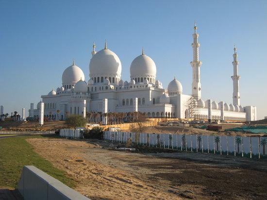 Abu Dabi, Emiratos Árabes Unidos: die Neue Mosché