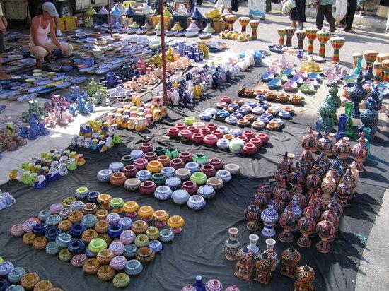 المهدية, تونس: mercato Mahdia