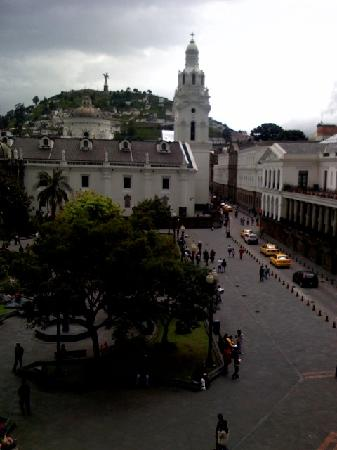 Plaza de la Independencia (Plaza Grande): View from our room