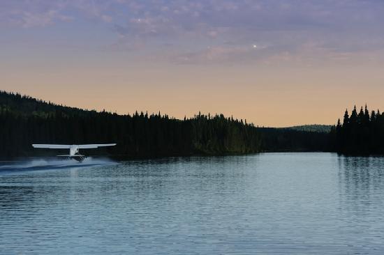 Lac-Édouard, Canada: La Seigneurie - Coucher de soleil