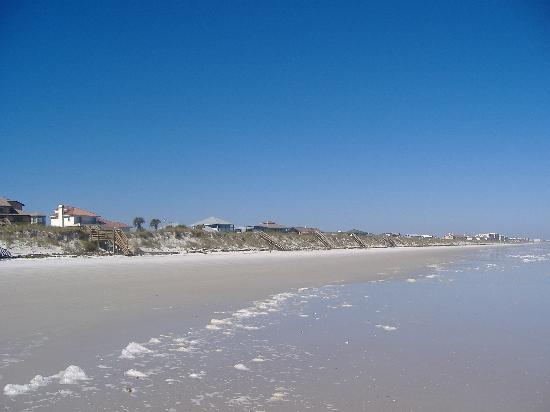 Empty beach picture of crescent beach florida for Matanzas inlet fishing