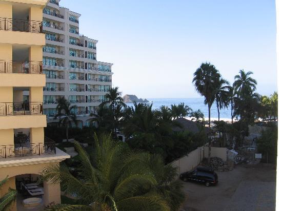 فونتان إيكستابا بيتش ريزورت: View from room 403 at the Fontan