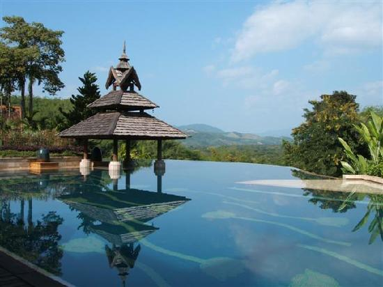 A Pool From Heaven Picture Of Anantara Golden Triangle Elephant Camp Resort Chiang Saen
