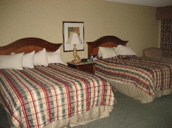 Red Lion Hotel Kelso/Longview: 2 queen size beds