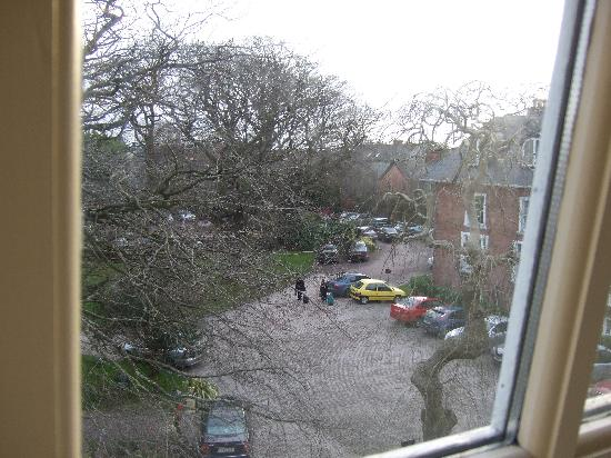 Hayfield Manor Hotel: View from window at Hayfield Manor