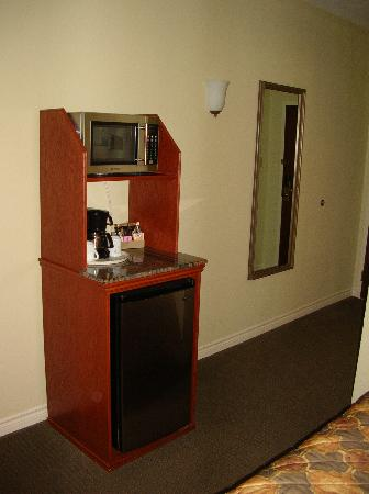Holiday Inn Express Suites Gananoque: Microwave and mini-fridge