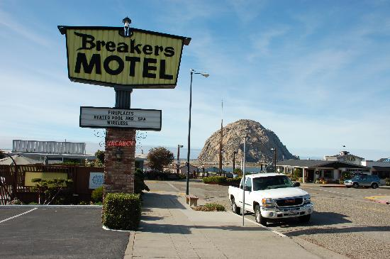 The Landing at Morro Bay: view from the front of the motel