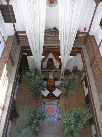 Riad Zolah: View of the Riad from the roof
