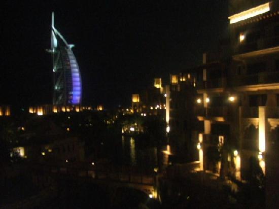 Jumeirah Mina A'Salam : View from the Rooftop bar in Al Qasar