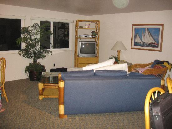Blue Whale Resort: Huge Living room