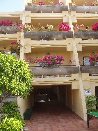 Sol Jandia Mar Apartamentos : Balconies