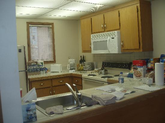 Ridge Top Village at Shawnee: Fully equipped kitchen at Ridge Top #45
