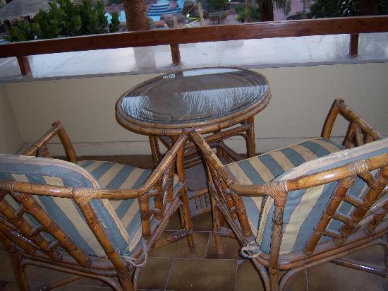 Amarante Pyramids Hotel: patio 1