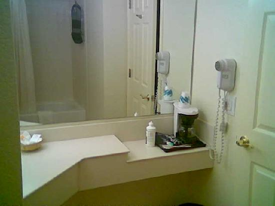 Baymont Inn & Suites Marietta/Atlanta North : There aren't any pictures of the great bathrooms online!