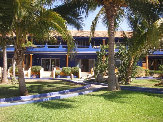 Troncones, Mexico: This is a view of the main rooms.