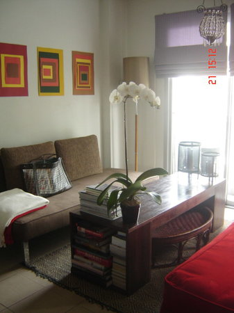 Sathorn Terrace Apartment: Living Room in my room
