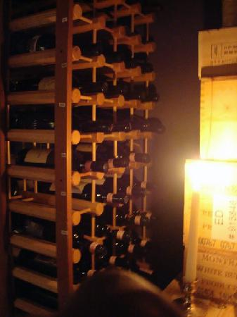 Pitcher Inn: Wine Cellar