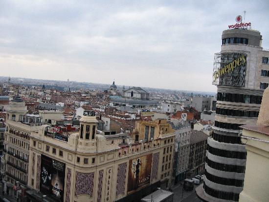 Hostal Helena: vista dal terrazzo