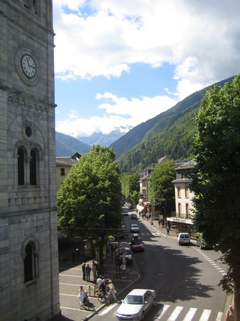Bagnères-de-Luchon, France : View from the balcony