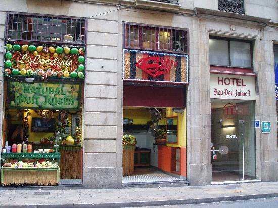 Hostal paris barcelona spanien omd men tripadvisor for Hotel de paris barcelona