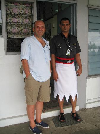 Taveuni Island, Fiji: Fiji Policeman