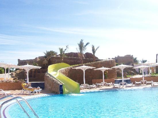 Pool With Water Slides Picture Of Utopia Beach Club Marsa Alam Tripadvisor