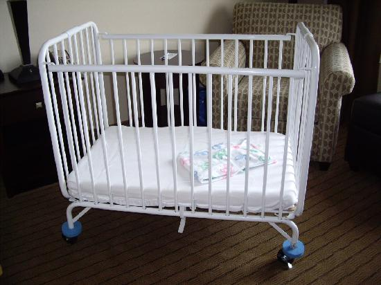 Holiday Inn Express Minot South: crib