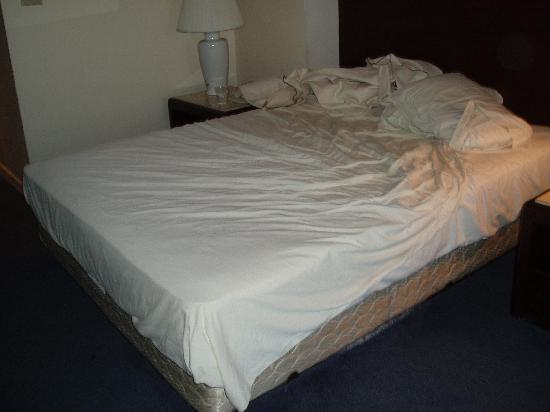 An uncomfortable bed