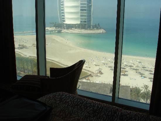 Jumeirah Beach Hotel: View from bedroom