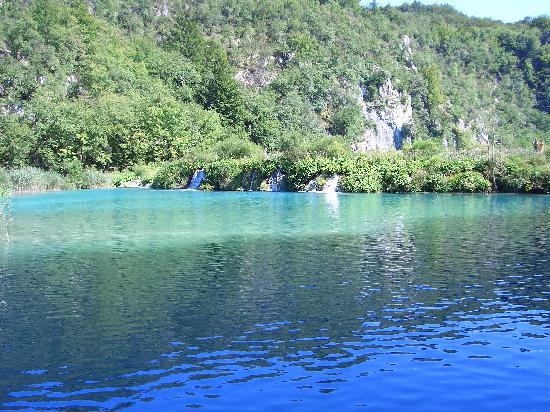 Plitvice Hotel : Il lago