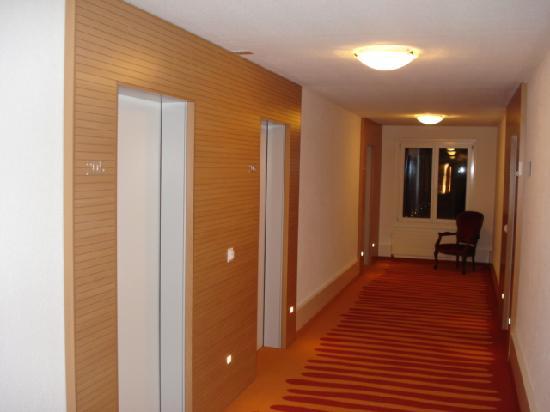 Hotel Restaurant Seehof: Corridor