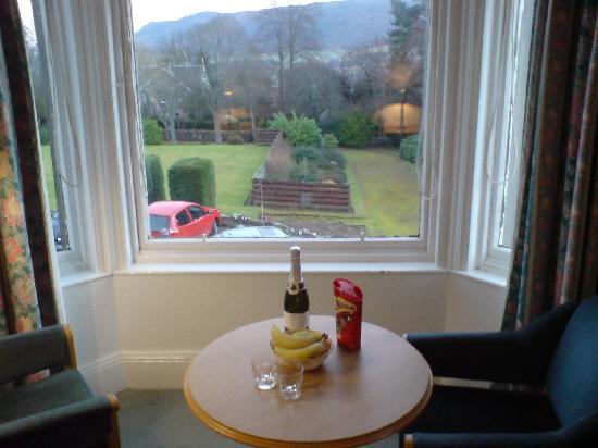 The Pitlochry Hydro Hotel: Complimentary goodies