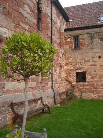 Flanesford Priory: Exterior near reception area