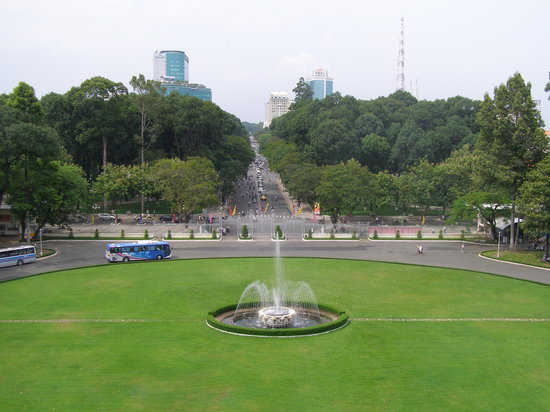Ciudad Ho Chi Minh, Vietnam: The View of Ho Chi Minh City from Indepence Palace