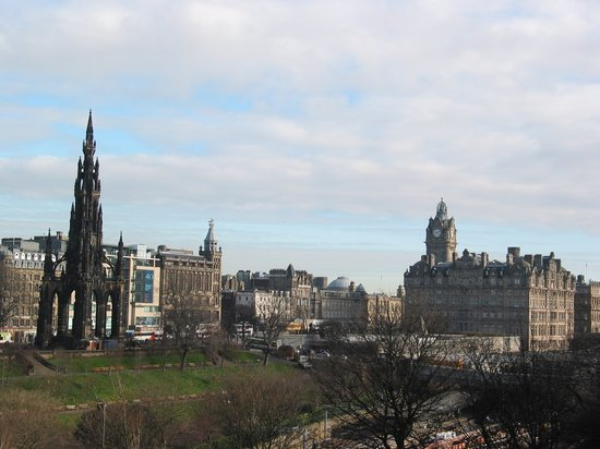 Edynburg, UK: Edinburgh - New Town