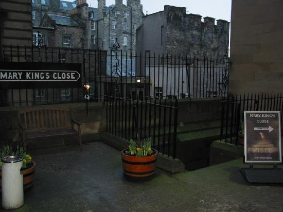 Edinburgh Restaurants Near Mary S Close