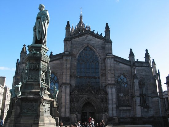 Édimbourg, UK : Edinburgh - Saint Giles' Cathedral