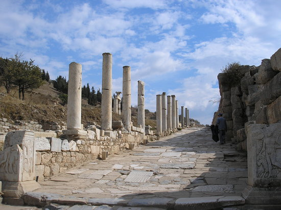 Ancient City of Ephesus: Curates Street