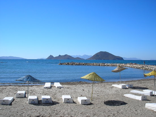 Turgutreis, Turki: Beach