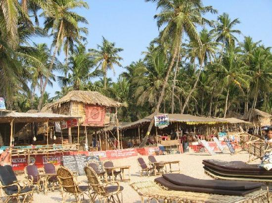 Om Sai Guest House: La plage de GOA 1