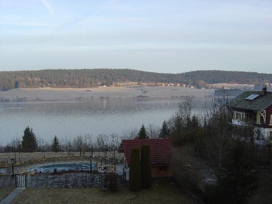 Malbuisson, Fransa: vue lac