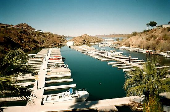Havasu Springs Resort Marina View From Motel