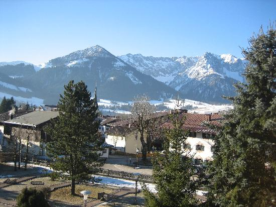Walchsee, Áustria: View from Bedroom window